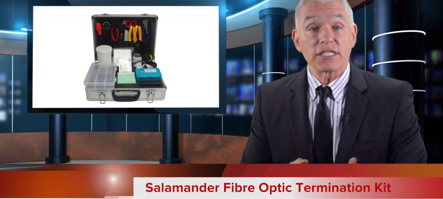 Salamander Fibre Optic Termination Kit