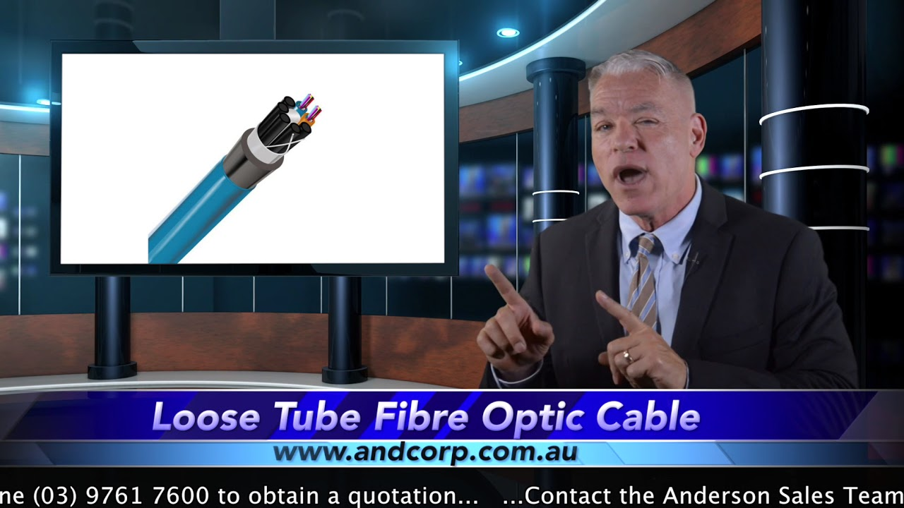 rapidconnect loose tube fibre optic cable