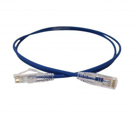 Fibre cable blue